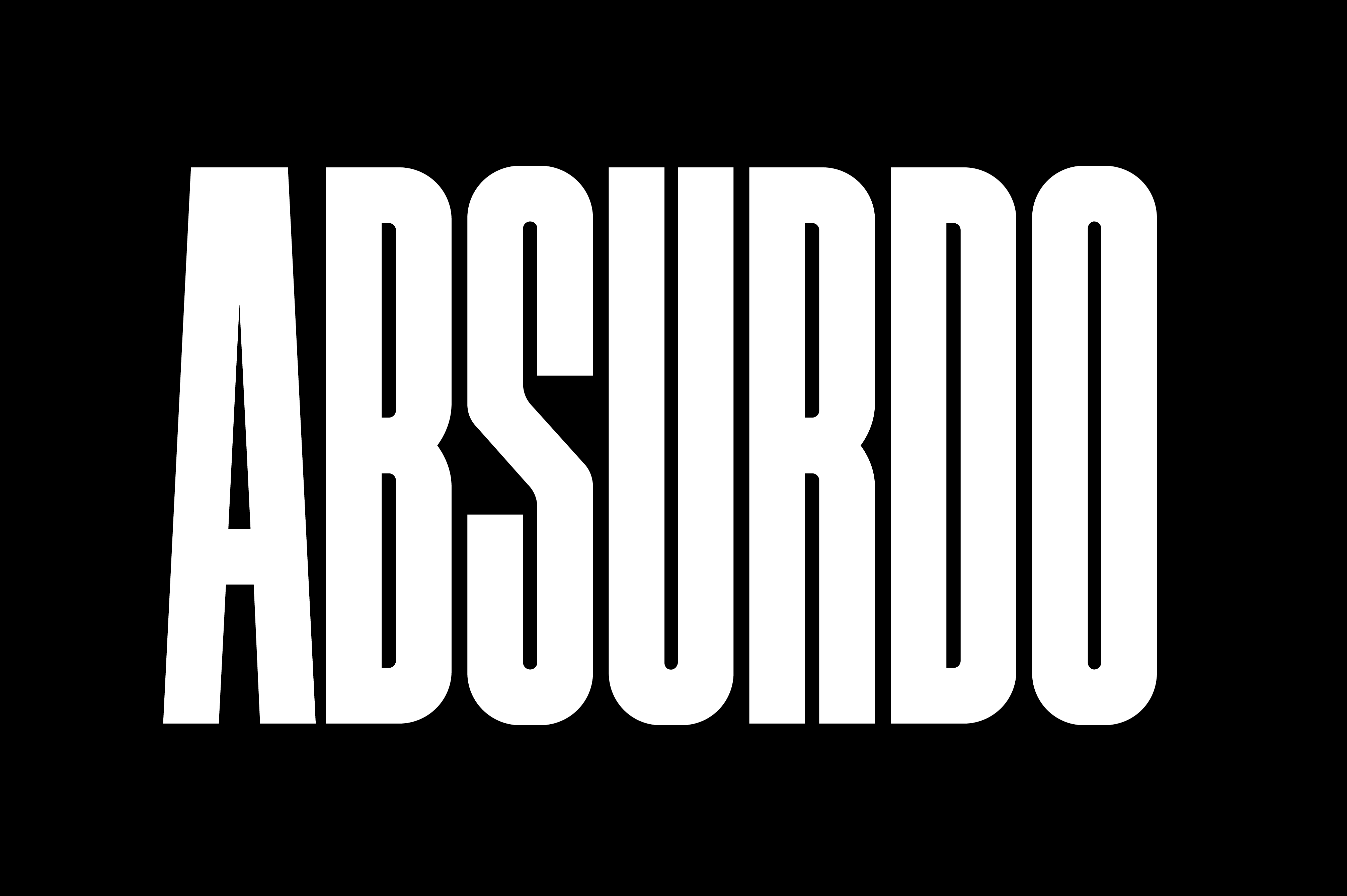 RS Absurdo typeface