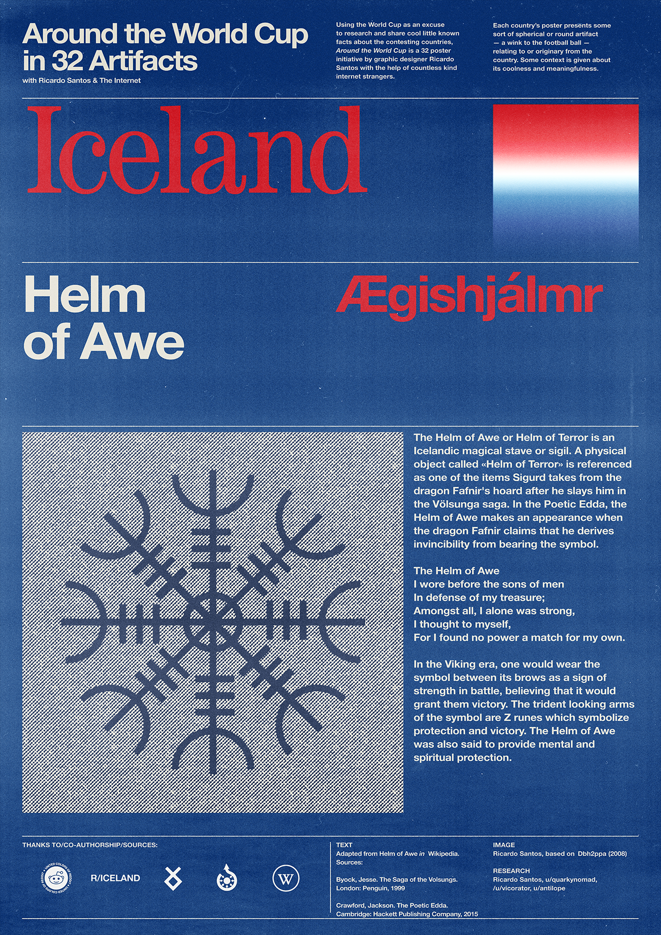 Iceland poster: Helm of Awe