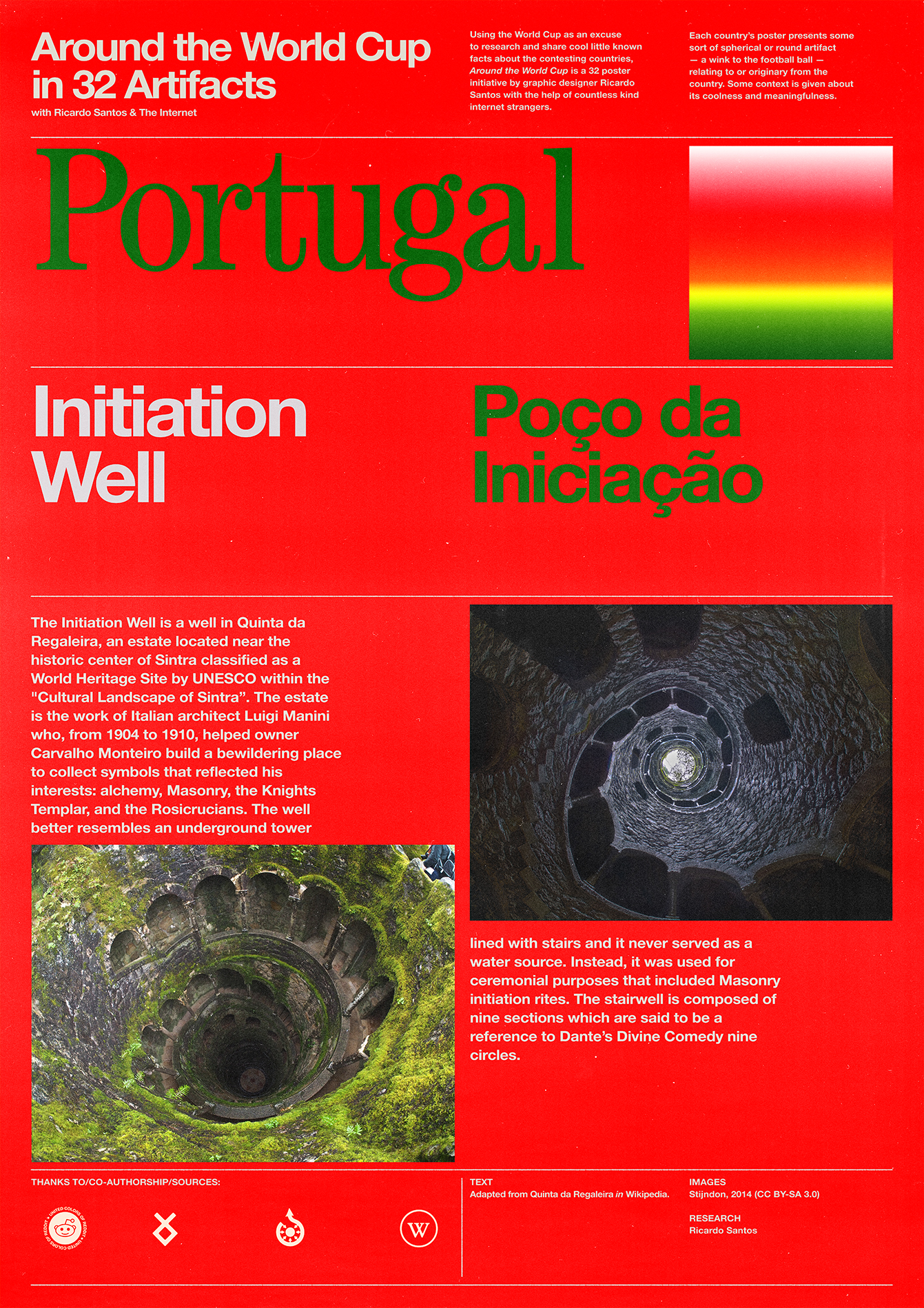 Portugal poster: Initiation Well