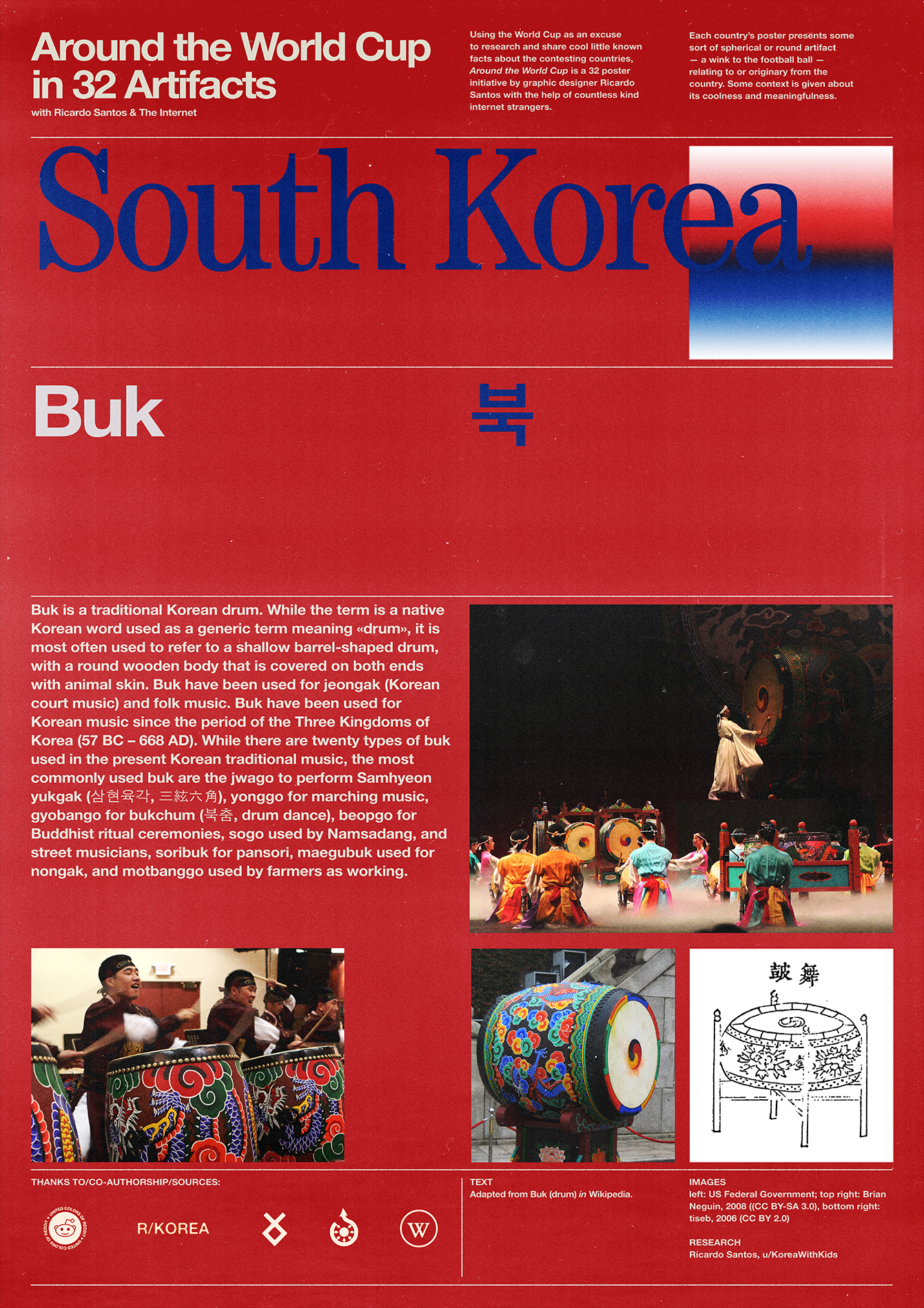 South Korea poster: Buk