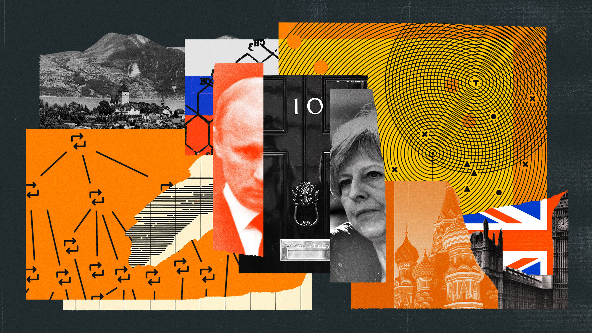 The Atlantic - Britain's Secret War With Russia opener illustration