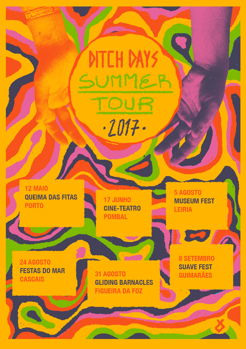 Ditch Days Summer Tour Poster