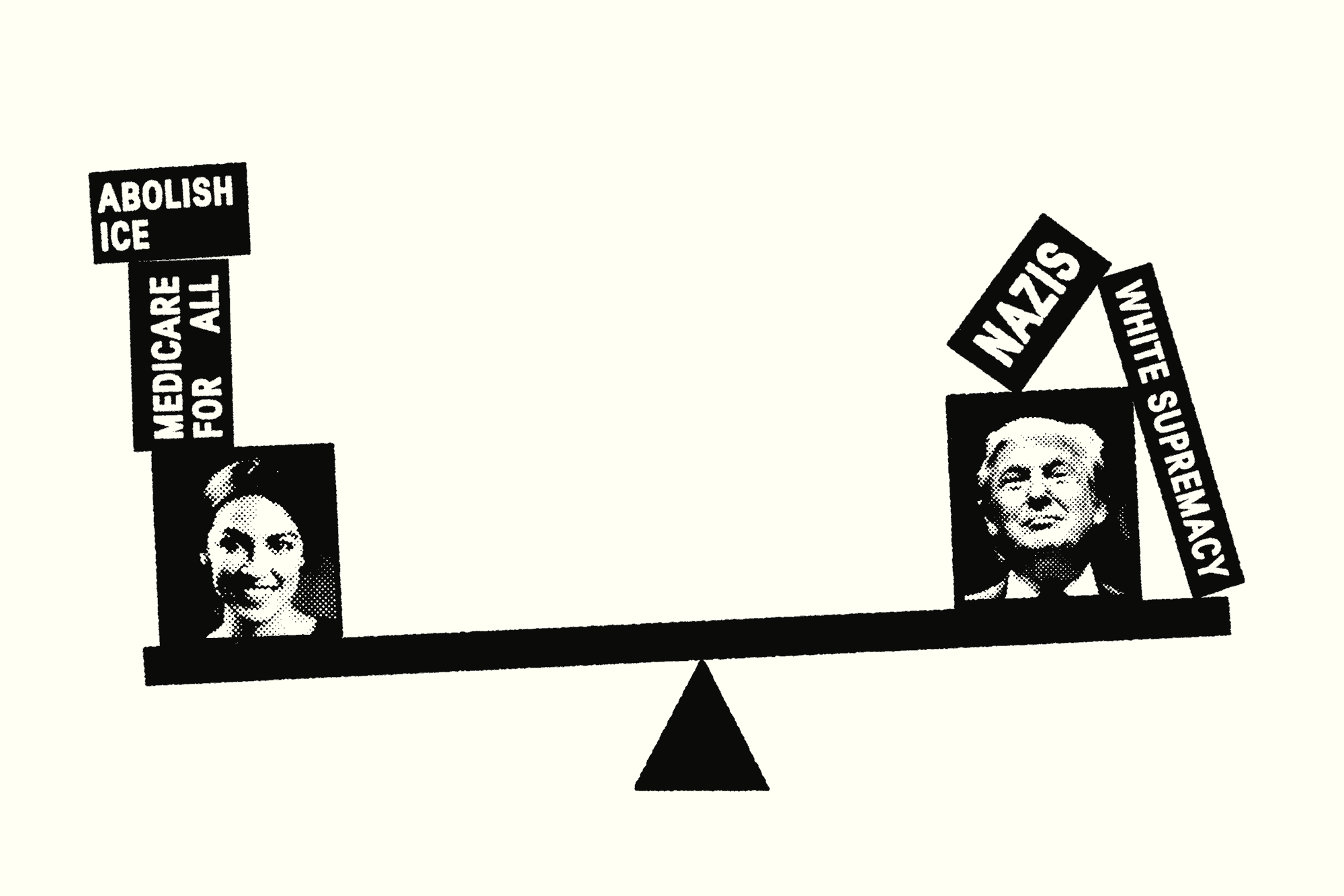 Democrats Are Moving Left. Don't Panic illustration