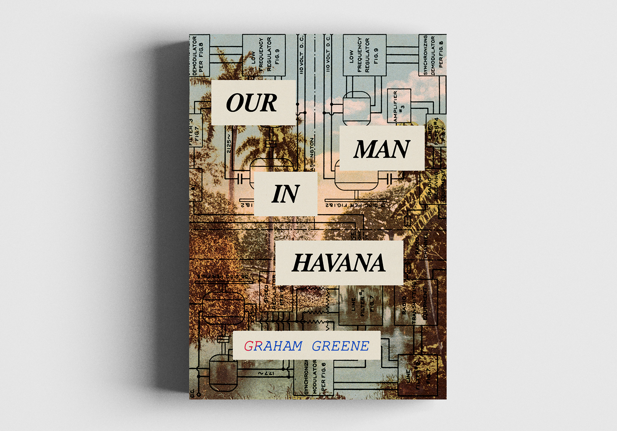 Our Man in Havana alternative cover