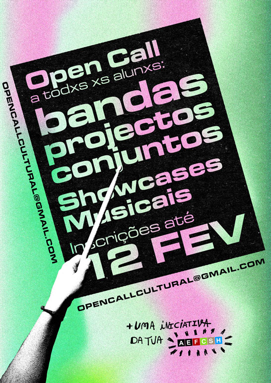 Open Call Bandas
