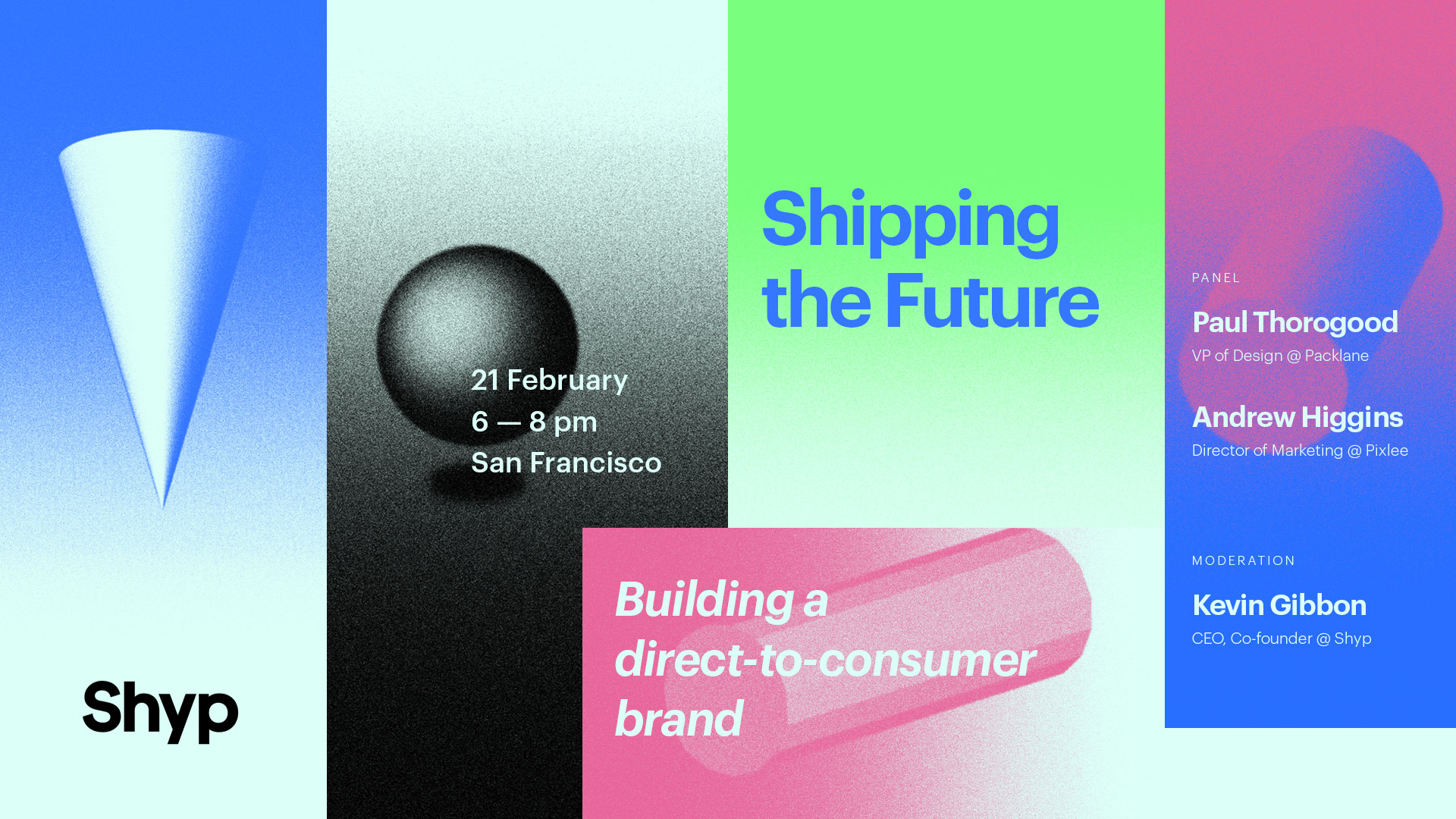 Shipping the Future branding
